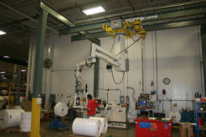 Dual Monorail Crane System Helps Paper Company Reduce Workplace Injuries