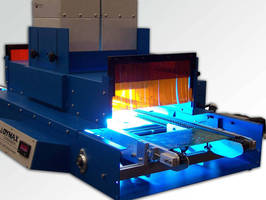 Conveyor Curing System offers consistent cure times.