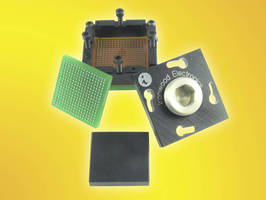 BGA Socket is designed for 0.8 mm pitch BGA 289 pin ICs.