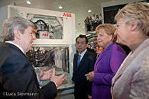 German and South Korean Leaders Review ABB Renewable-Energy Capabilities at Hannover Messe
