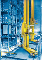 MaxTriever Family of Lane Changing SRMs Provides Increased Effectiveness in Large Warehouse Operations