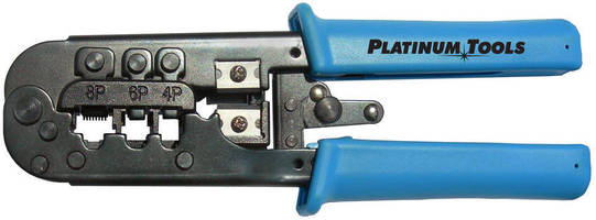 Crimp Tool features 4, 6, and 8 position crimp cavities.