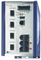 Gigabit Ethernet Switch features integrated power management.