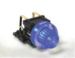 Illuminated Tactile Switch offers thru hole termination.