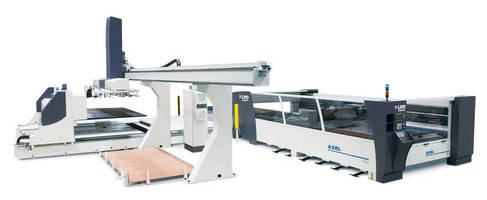 Laser Cutting System offers automated load/unload capability.