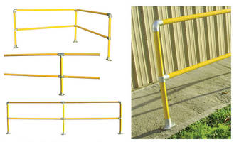 Safety Railing Kits come with pre-built uprights.