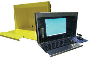 Rugged Enclosure protects thin client systems on shop floor.