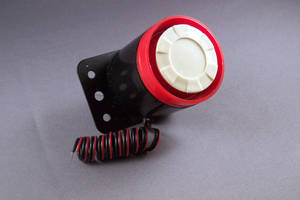 Siren Alarm cycles through 6 tone alerts.