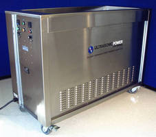 Portable Ultrasonic Cleaning System is self-contained.