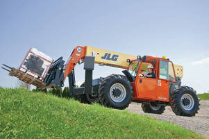 JLG Launches New 10,000 lb. Capacity Telehandler