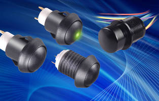 Sealed Pushbutton Switches are IP67 rated.