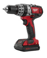 Compact Hammer Drill/Driver is ergonomically designed.