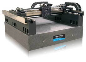 AGS Series Linear Motor Cartesian Gantries are Optimized for Precise Contouring