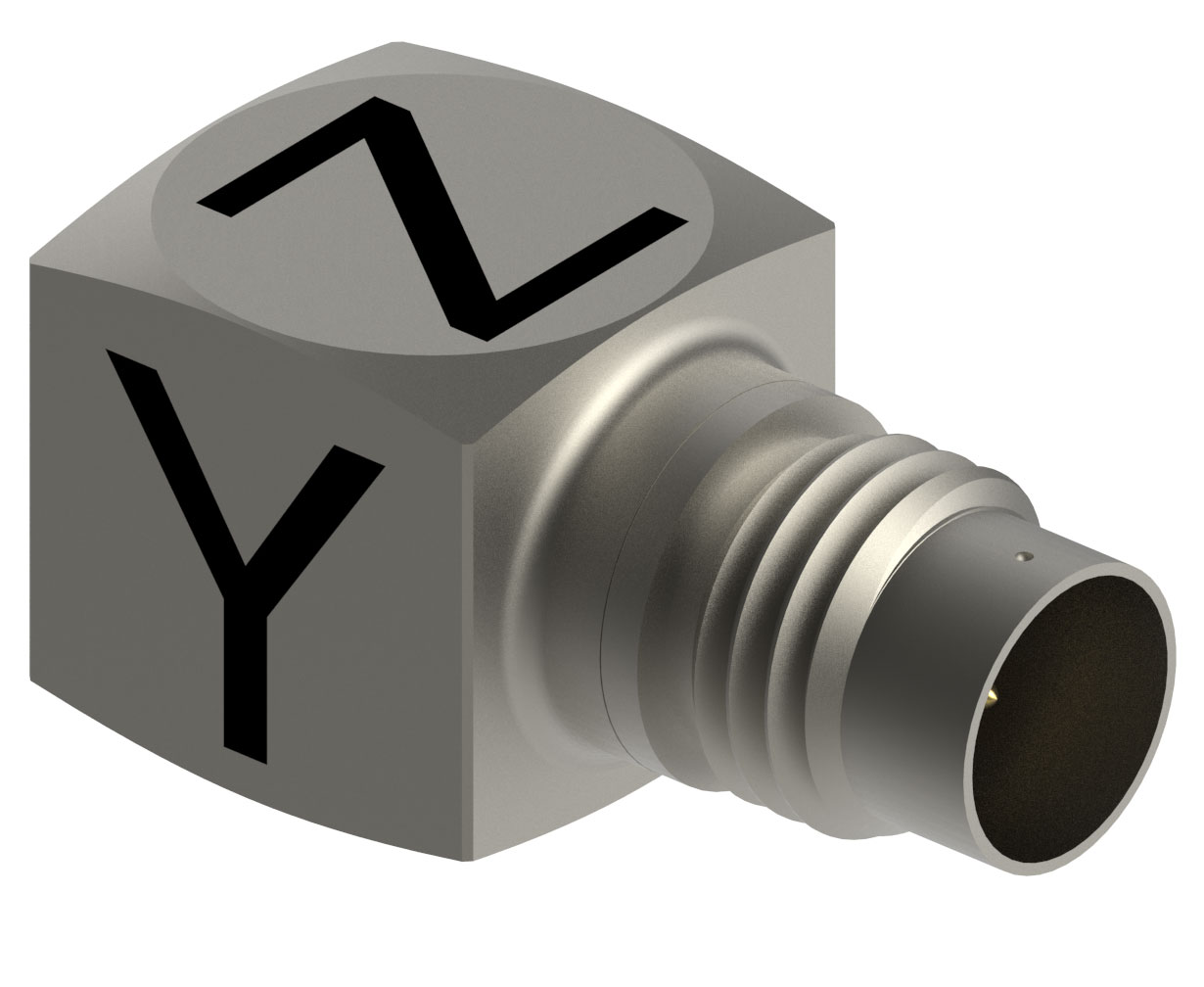 Miniature Triaxial Accelerometer is hermetically sealed.