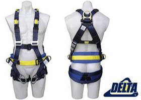 Fall Protection Harness features no-tangle design.