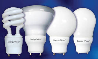 Compact Fluorescent Lamps come in 13, 18, and 23 W versions.