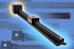 Linear Slide Assembly features Haydon(TM) size 17 stepper motor