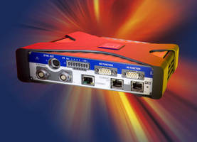 Gateway Module enables EtherCAT real-time data acquisition.