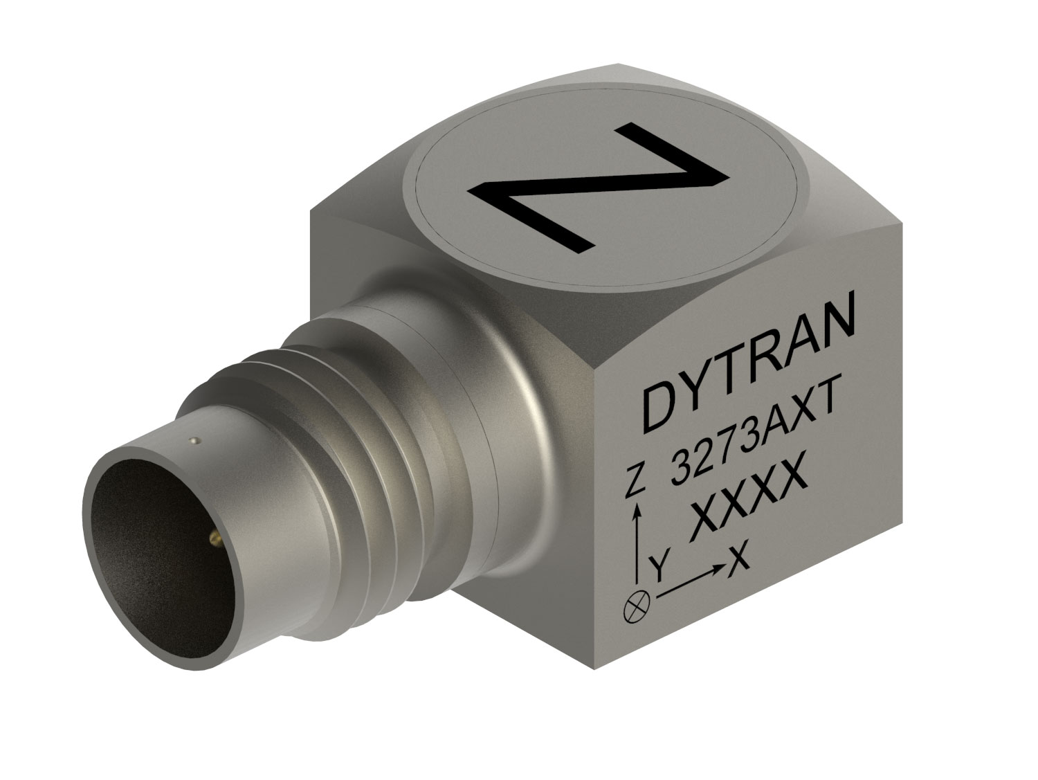 Triaxial Accelerometer includes IEEE 1451.4 TEDS.