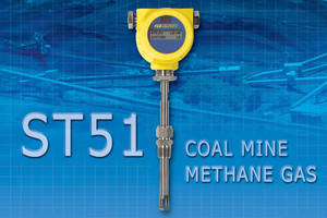 FCI ST51 Mass Flow Meter Designed for Coal Mine Methane Gas Measurement