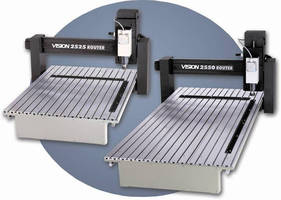 CNC Routers offer both routing and engraving head options.