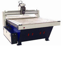 CNC Routers have work areas starting at 4 x 8 ft.