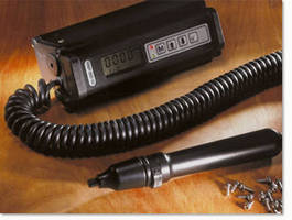 Electronic Torque Screwdriver offers programmable pre-sets.