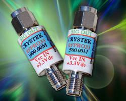 Oscillator integrates SineWave SAW oscillator in SMA housing.