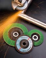 Ceramic Flap Discs are self sharpening.