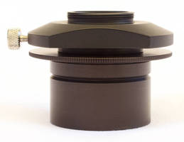 C-Mount Adapter is designed for microscopes.