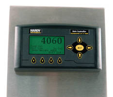 Rate Controller has stainless steel NEMA 4x enclosure.