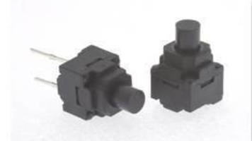 Sealed Tactile Switch features radial leads.