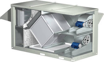 Heat Recovery Unit has low leakage and no moving parts.