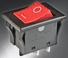 Rocker Switches have IP67 waterproof rating.