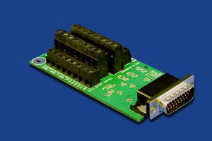 Interface Boards suit temperature control applications.