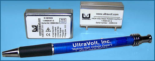 High-Voltage DC/DC Power Supplies feature compact footprint.