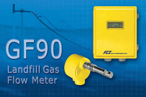 FCI's GF90 Gas Flow Meter Provides Accurate Measurement for Landfill Gas Operations