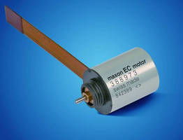 Flat Motor offers high nominal torque of up to 0.83 mNm.