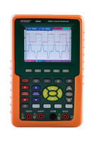Digital Oscilloscope features 3.8 in. color LCD display.