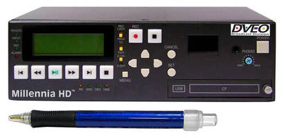 HD Digital Disk Recorder offers portable operation.