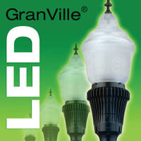 LED Luminaires incorporate thermal management system.