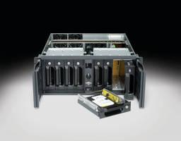 Chassis allows for mounting 8 SAS or SATA II hard drives.