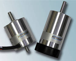 Pittman® Series 1300 Slotted Brushless DC Servo Motors Deliver More Power in Compact Package