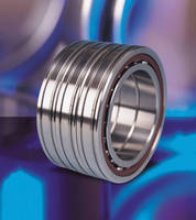 Angular Contact Ball Bearings suit machine tool applications.
