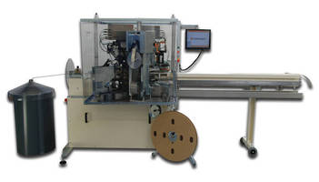 Crimping Machine handles cross sections from 24-12 AWG.