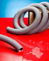Rugged Vacuum Hose operates over -40 to 140°F range.