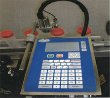 Inkjet Printer delivers character heights from 1-18 mm.