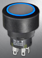 NKK Switches Announces Expansion of YB2 Series of 22mm, IP65 Rated Pushbuttons to Include Illuminated Outer Ring Option