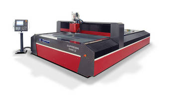 Waterjet delivers high-precision machining capabilities.