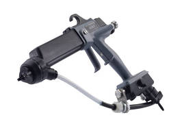 Spray Gun is offered in cordless portable model.
